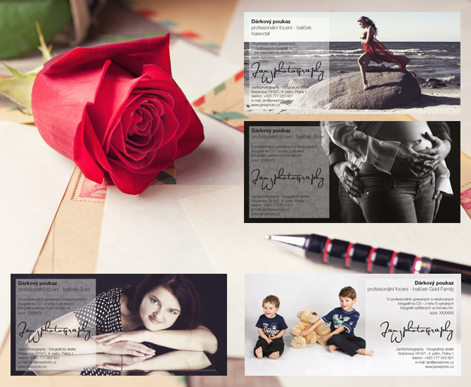 illustration photo for gift vouchers